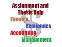 Business Tutor and Assignment Thesis Project Reports Accounting Management Economics Statistics