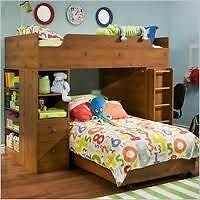 Kids Bunk Bed with storage and desk