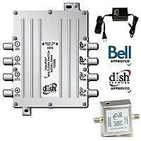 Bell SW 44 NIB Sat Dish and LNB included, Bell 9200 Receiver