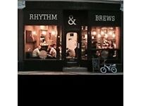 Looking for Full/Part time barista to work in our Vinyl Cafe