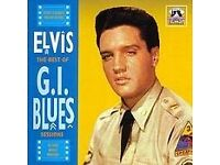 ELVIS THE BEST OF G. I. BLUES SESSIONS (Memory Records 2018-2) (Released 2000) CD