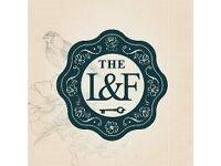 Bar Staff - The Lost & Found, Knutsford