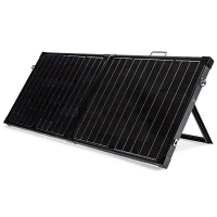 NEW G&P 12V 120W Folding Solar Panel Portable Kit Camping Caravan Battery Power
