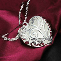 New Hollow Heart Necklace