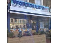 WAITRESS JOB AT CAFE IN ARCHWAY // WORKSMANS CAFE // GOOD PAY // CALL 07429584734