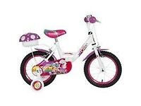 Girl's bike and helmet £30
