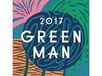 Green Man Student Ticket