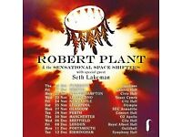 Robert Plant Stalls seat for Perth Concert Hall
