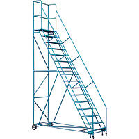 Ladders: Rolling 2 to 20 step, step stands/stools