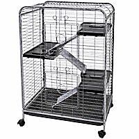 Multi-level small animal cage
