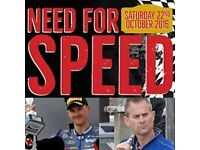 Need for Speed an evening with Christian Iddon and James Whitham