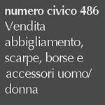 numero civico 486