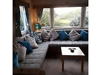 Gorgeous 3 bed Static Caravan for sale at Presthaven Beach Resort