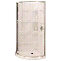 "MAAX 34"" by 34"" shower stall.  Brand new."