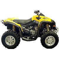 CAN AM RENEGADE ATV OVER FENDERS FLARES MUD GUARDS