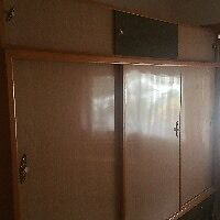 Retro Wardrobe, Spacesaver with Matching Double Bedhead Bayswater Bayswater Area Preview