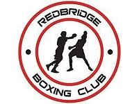 Group boxing fitness class