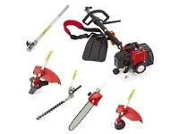 £100 52cc Petrol Multi Function 5 in 1 Garden tool 2.2KW 3HP
