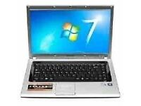 Samsung Laptop with webcam and 3 Gig ram