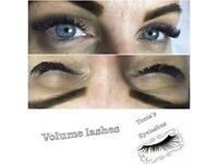eyelashes extensions eyelash volume individuals classic lvl lashes