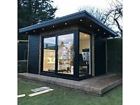 Add Value to your home with one of our garden rooms, High Spec at affordable prices.