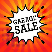 GARAGE SALE TODAY!!!
