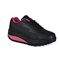 Twisted tone athletic shoes