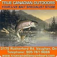 minnows, ice fishing tackle in stock, open daily
