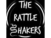 The Rattle Shakers need a bass player