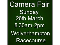 Cameras, Lenses, Accessories for sale - Sunday 26th March, Wolverhampton Racecourse
