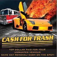 Recycle your vehicle for CASH! 613-831-2900 BBB Accredited!