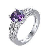 ring size 7 stamped and brand new in box very nice