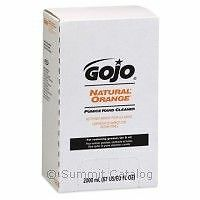 GOJO orange Pumice hand soap - Free dispenser on first purchase