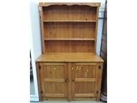 Large pine farmhouse dresser