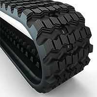 RUBBER TRACKS FOR SKID STEER