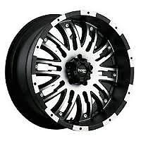 NEW 20X9 INCUBUS WHEELS 6X5.5 BOLT PATTERN  (6X139.7mm)
