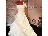 job lot of 40 ex sample wedding dresses