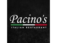 Part Time(evenings) Motivated Chef for a new concept Italian Restaurant on Mapperley Top