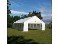 Marquee and wooden floor for hire - 6 metres x 12 metres