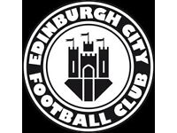 Edinburgh City AFC - Reserve Goalkeeper Needed