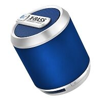 Divoom BLUETUNE-SOLO Bluetooth Speaker + Speakerphone - Blue
