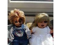 chucky and bride of chucky doll