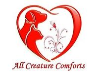 """All Creature Comforts"" Dog Waking, Pet Sitting & Pet Taxi Services Dundee"