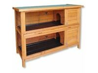 RABBIT CAGES DOUBLE £45 EACH ALSO RABBIT RUN £30
