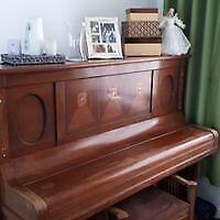Great Piano * R.Gors Kallman- Berlin Working... + piano chair