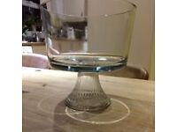 Anchor glass triffle bowl beautiful quality item.