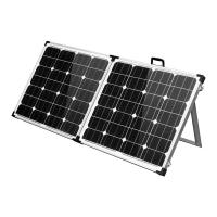NEW MAXRAY 12V 100W SOLAR FOLDING PANEL KIT caravan camping power mono charging