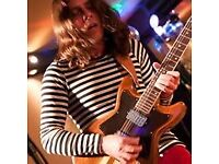 Singer/guitarist available for paid gigs-Rock, blues, jazz