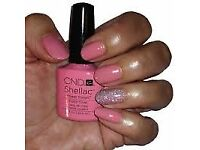 ***CND SHELLAC £10 FINGURES OR TOES***