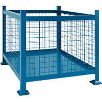 Steel and Wire Mesh Bin Containers